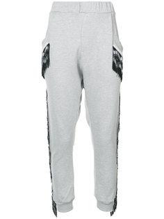 спортивные брюки с кисточками Baja East