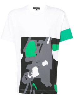 футболка с абстрактным принтом Comme Des Garçons Homme Plus