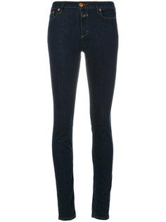 джинсы скинни с контрастной строчкой Closed