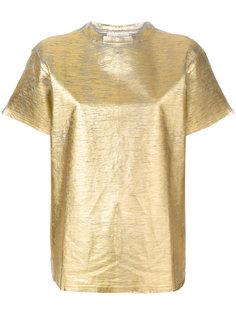 футболка с отделкой  Golden Goose Deluxe Brand