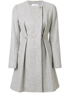 приталенное пальто без воротника  Carven