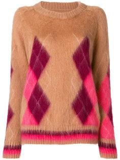 свободный фактурный свитер  Laneus