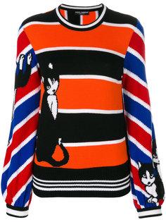 джемпер в полоску  Dolce & Gabbana