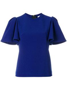блузка с оборчатыми рукавами MSGM