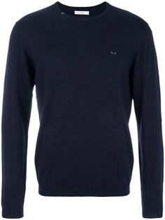 классический трикотажный свитер Sun 68