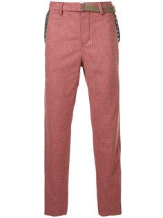 классические брюки в клетку Sacai