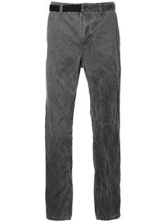 вельветовые брюки с поясом Sacai