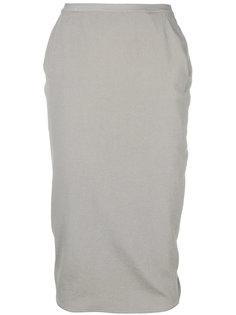 юбка-карандаш Pillar Rick Owens