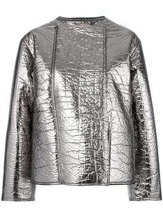 куртка металлик на молнии  Nehera
