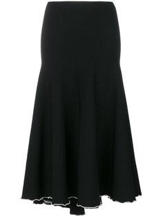 юбка с контрастной оторочкой Proenza Schouler