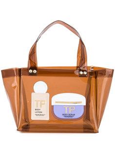 прозрачная сумка с верхними ручками Theatre Products
