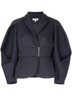 структурированная куртка с поясом Delpozo