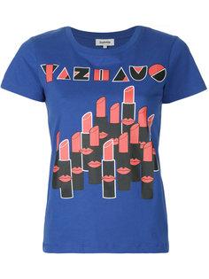футболка с графическим принтом Yazbukey