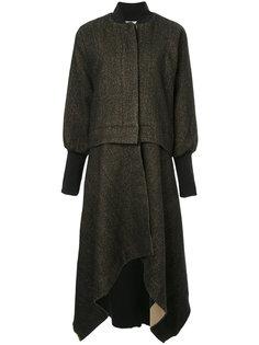 пальто с асимметричным подолом Uma Wang