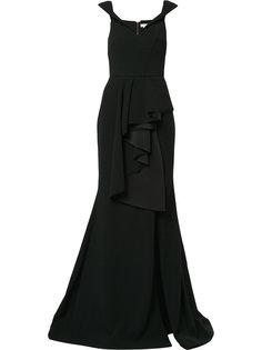 платье в пол St. Barts Rebecca Vallance