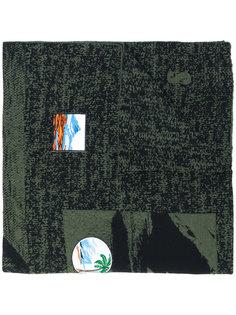 шарф с нашивками Kenzo