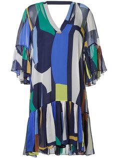 платье-шифт с геометрическим принтом GINGER & SMART