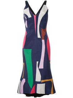 платье с геометрическим принтом GINGER & SMART