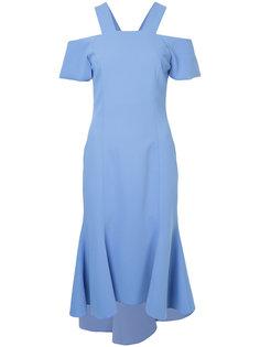 платье с открытыми плечами GINGER & SMART