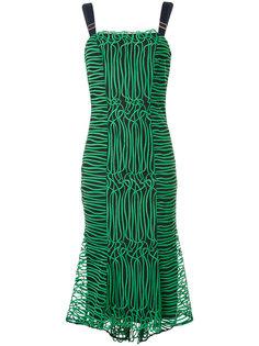 платье миди с оборками GINGER & SMART