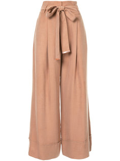 укороченные брюки с бантом спереди GINGER & SMART