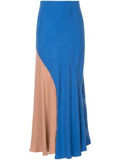двухцветная юбка GINGER & SMART