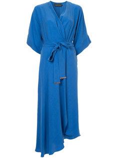 платье с запахом GINGER & SMART