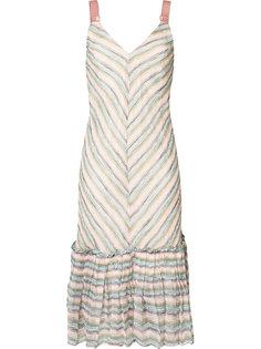 платье с V-образным вырезом GINGER & SMART