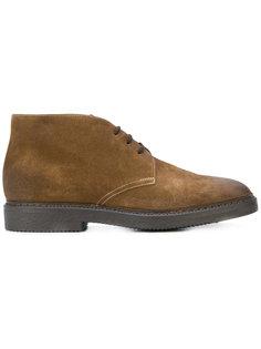 классические ботинки на шнуровке Doucals