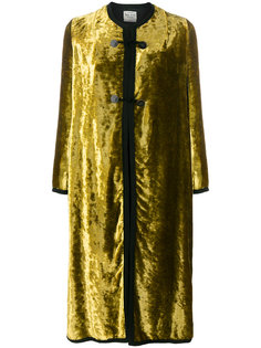бархатное пальто  Forte Forte