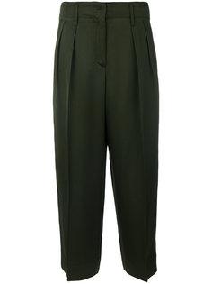 брюки со складками  Forte Forte