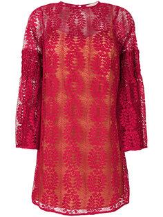 """кружевное платье с рукавами """"колокол"""" Michael Michael Kors"""