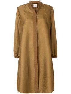 расклешенное А-образное пальто  Forte Forte