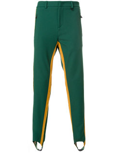 брюки с лампасами Moncler Grenoble