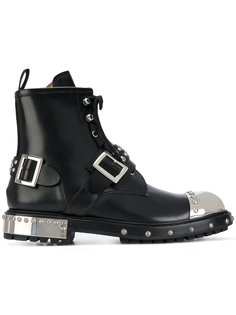 ботинки с металлическим носком Alexander McQueen