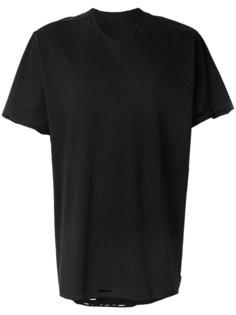 футболка с потертой отделкой Julius