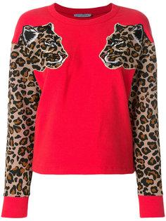 свитер с леопардовым узором Vivetta