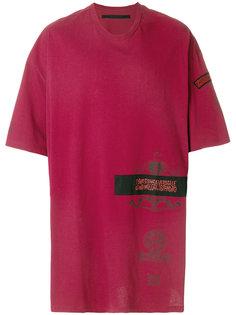 футболка мешковатого кроя с аппликацией Julius