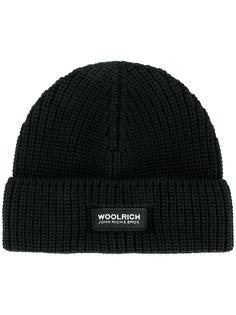 классическая триктажная шапка  Woolrich