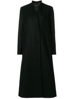 удлиненное расклешенное пальто Erika Cavallini