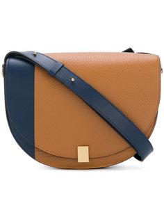двухцветная сумка на плечо  Victoria Beckham