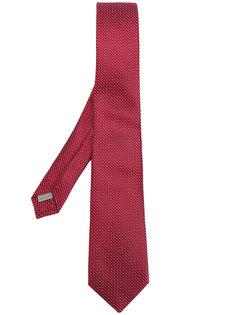 галстук в мелкую клетку Canali