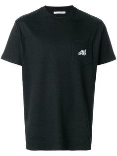 футболка с карманом Stay Lazy Alyx