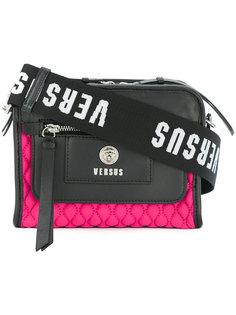 стеганая сумка на плечо Versus