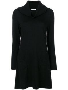 платье-свитер с объемной горловиной Le Tricot Perugia