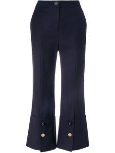 брюки клеш с пуговицами на манжетах Eudon Choi