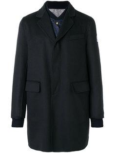 пальто Chester  со стеганой вставкой Moncler Gamme Bleu