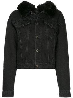 укороченная джинсовая куртка  Unravel Project