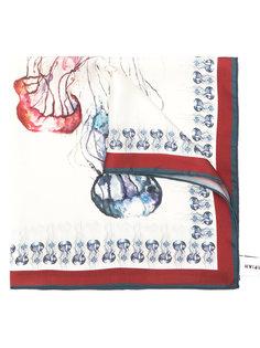 шарф с медузами Olympiah