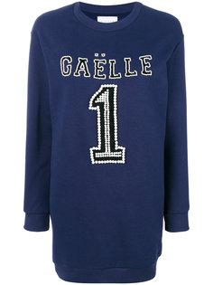 платье-джемпер с логотипом  Gaelle Bonheur
